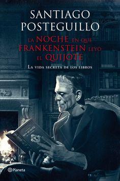 Frankenstein Reading Don Quixote. I Love Books, Great Books, Books To Read, My Books, Frankenstein, Back Of My Hand, Ebooks Pdf, Don Quixote, Book Writer
