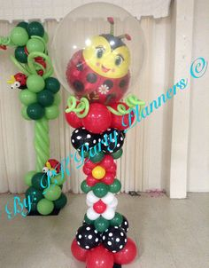 Lady Bug follow this complete Baby Shower Decoration on our Facebook Page https://www.facebook.com/pages/PK-Party-Planners/435867733178759