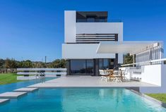 Modern Albatross Villa on the Greek island of Rhodos by Andreas Chadzis and Myrto Kampaloni - CAANdesign | Architecture and home design blog