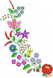 """Folk Embroidery Patterns Képtalálat a következőre: """"hímzésminták nyomtatható"""" - Hungarian Embroidery, Folk Embroidery, Learn Embroidery, Hand Embroidery Designs, Floral Embroidery, Embroidery Patterns, Chain Stitch Embroidery, Embroidery Stitches, Bordado Popular"""