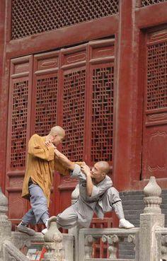 Huangshan,china. Kung Fu