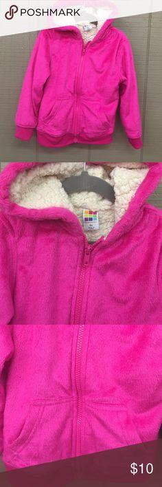 Health Tex 4t pink fleece jacket w/ Sherpa lining Health Tex 4t pink fleece jacket w/ Sherpa lining healthtex  Jackets & Coats