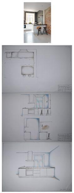 perspectief tekenen interieur - Google zoeken | presentation ...