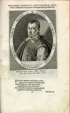 Johann Georg I., Herzog von Sachsen (Haus Wettin) (*1585, reg. 1611-1656)