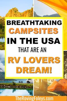 From Arizona to Washington, we've put together a list of the top rated RV campgrounds in the United States that you can add to your bucket list for your next road trip. Finding good RV campgrounds is really hard to do so this list makes RV planning so much easier! #rvcampgrounds #unitedstates #roadtrip #bucketlist #rvtraveldestinations #rvtravel #camping Rv Camping Tips, Travel Trailer Camping, Camping Places, Camping Spots, Rv Travel, Camping Products, Camping Stuff, Camping Essentials, Travel Trailers
