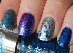 aquarius nails | Essence Nail Art Special Effect! Topper 10 Glorious Aquarius (new ...