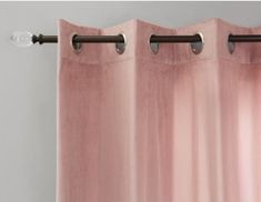 LUXA Set of 2 velvet curtain panels