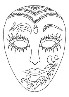 Home Decorating Style 2020 for Coloriage Masque Carnaval Maternelle, you can see Coloriage Masque Carnaval Maternelle and more pictures for Home Interior Designing 2020 11623 at SuperColoriage. Coloring Book Pages, Printable Coloring Pages, Coloring Sheets, Clown Maske, Mask Drawing, Carnival Masks, Rio Carnival, Venetian Masks, Quilling Patterns