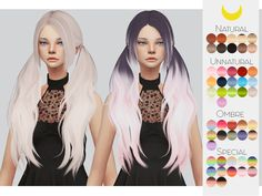 Sims 4 Hairs ~ The Sims Resource: Stealthic`s Baby doll hair retextured by Kalewa-a Sims 4 Mods Clothes, Sims Mods, Baby Doll Hair, Baby Dolls, Sims 4 Cas, Sims Cc, The Sims 4 Cabelos, Sims 4 Collections, Pelo Sims