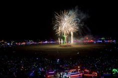 Participants attend Burning Man 2015, the largest outdoor arts festival in North America, in the Black Rock desert of Gerlach, Nevada. Photo: 082024005005, Courtesy Sidney Erthal