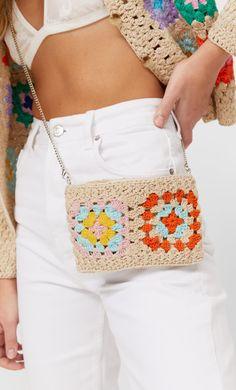 Crochet Market Bag, Crochet Tote, Crochet Handbags, Crochet Purses, Crochet Granny, Filet Crochet, Knit Crochet, Crochet Shoulder Bags, Creations