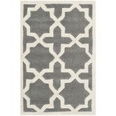 Found it at AllModern - Chatham Dark Grey / Ivory Rug