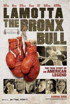 """LaMotta: The Bronx Bull"""" screens at 8:30 p.m. Saturday at Regency South Coast Village in Santa Ana. Plans call for LaMotta to walk celebrity central and take an interest in a Q&A after the scre…"""