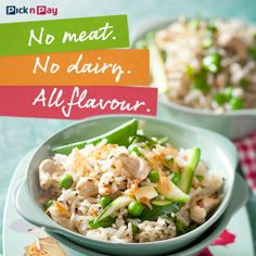 This meat and dairy-free spiced pilaf doesn't compromise on flavour. #dailydish #picknpay #freshliving