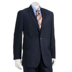 Croft+&+Barrow+Classic-Fit+Navy+True+Comfort+Suit+Jacket+-+Big+&+Tall $75 black friday preview pricing