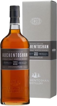 Auchentoshan Scotch Single Malt Three Wood 750ML One of the first Lowlands I purchased and the best flavor. Matured in 3 casks, from different backgrounds to give it a full flavor profile that is amazing.