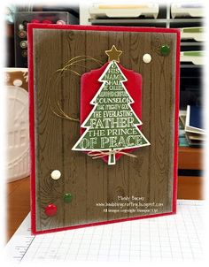 Bada-Bing! Paper-Crafting!: It's a Christmas Miracle!