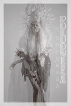 "Poludnitsa is a mythical character common to the various Slavic countries of Eastern Europe. She is referred to as Południca in Polish, Полудница (Poludnitsa) in Serbian, Bulgarian and Russian, Polednice in Czech, Poludnica in Slovak, and Полознича (Poloznicha) in Komi, Chirtel Ma in Yiddish, Poludnitsa is a noon demon in Slavic mythology. She can be referred to in English as ""Lady Midday"" or ""Noon Witch"". She was usually pictured as a young woman dressed in white that roamed field bounds."