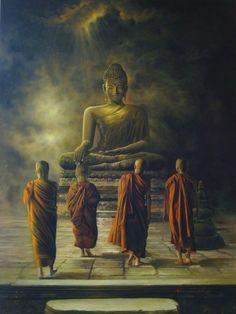 Buddha Life, Buddha Zen, Gautama Buddha, Buddha Buddhism, Buddhist Monk, Buddhist Art, Buddha Decor, Buddha Sculpture, Buddha Tattoos