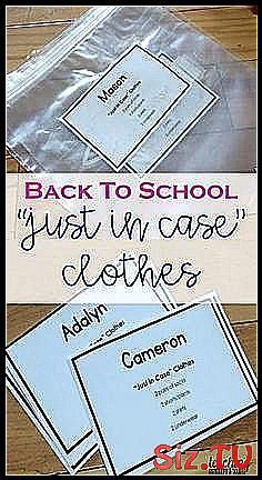 Back to School Just In Case Clothes Back to school preparation is a busy time for kindergarten teach Kindergarten Lesson Plans, Kindergarten Teachers, How To Plan, How To Make, Just In Case, Back To School, Change, Students, Feelings