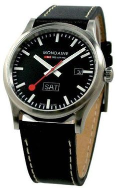 Mondaine Watch Sports Line #bezel-fixed #bracelet-strap-leather #brand-mondaine #case-material-steel #case-width-41mm #clasp-type-tang-buckle #classic #date-yes #delivery-timescale-4-7-days #dial-colour-black #gender-mens #movement-quartz-battery #official-stockist-for-mondaine-watches #packaging-mondaine-watch-packaging #subcat-sport #supplier-model-no-a667-30308-19sbb #warranty-mondaine-official-2-year-guarantee #water-resistant-30m