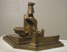 Umberto Boccioni -  Development of a Bottle in Space, 1913