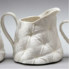 Sarah is a London based ceramicist who parodies sumptuous upholstery and rich textured fabrics which even when old and sagging suggest comfort and luxury, she uses porcelain to make functional. Modern Rustic, Decorative Accessories, Upholstery, Campaign, Porcelain, Fabrics, Content, London, Texture