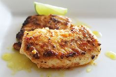 Neven Maguire Pan-fried hake with lemon  herb butter sauce
