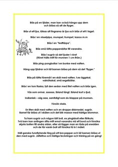 version-9f7278d64abfea84e9aab4cec19f47db (1024×1448) Learn Swedish, Swedish Language, Special Needs, Pre School, Massage, Songs, Education, Learning, Inspiration