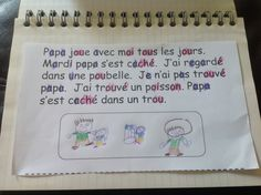 Phonics practice for French Immersion - highlight the simple vowels in one colour, the double-letter sounds in another colour. Then read and illustrate the sentence to show comprehension.