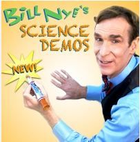 7 Free Science Experiments from Bill Nye the Science Guy & Disney (includes downloadable instructions)