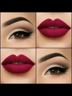 Hair Red Makeup Mac Eyeshadow 31 Ideas Haare rot Make-up Mac Lidschatten 31 Ideen Red Makeup, Kiss Makeup, Love Makeup, Makeup Art, Hair Makeup, Cheap Makeup, Makeup Style, Perfect Makeup, Simple Makeup