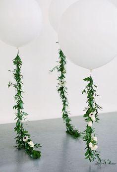 Balloons w/ Green