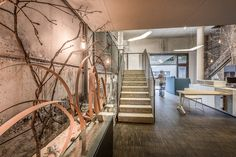 Neudoerfler Showroom, Salzburg Stylish Office, Interiordesign, Salzburg, Offices, Showroom, Modern, Stairs, Inspiration, Beautiful