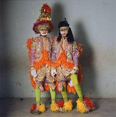 Fancy Dress and Rasta, Nobles Masquerade Group, Winneba, Ghana, 2009 | Ph: Phyllis Galembo