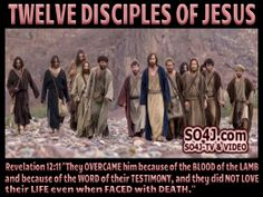 12 disciples of jesus christ - chart & video Lent Devotional, Woman Quotes, Life Quotes, Positive Quotes For Teens, Jesus Lives, Jesus Christ, V Video, Revelation 12