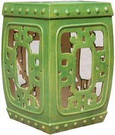 Gardening stools - Pin it :-) Follow us :-)) zGardensupply.com is your Garden Supply Gallery ;) CLICK IMAGE TWICE for Pricing and Info SEE A LARGER SELECTION of gardening stools  at http://zgardensupply.com/category/garden-supply-categories/gardening-clothing-gear/stools/ - garden, gardening, gardening gear,stools, garden stools  -  Tender Green Square Medallion Garden Stool « zGardenSupply