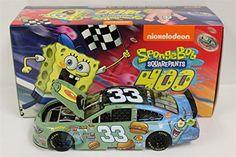 Ty Dillon 2015 SpongeBob Squarepants 1:24 Nascar Diecast @ niftywarehouse.com
