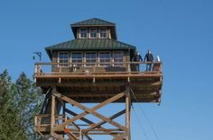 This is awesome inside and out!!! Off-Grid Lookout Tower Cabin in Tiller 001
