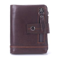 8b903e64ef96 BULLCAPTAIN 13 Card Slots Wallet Genuine Leather Card Holder Vintage Coin  Bag For Men sales at a wholesale price. Come to Newchic to buy a wallet