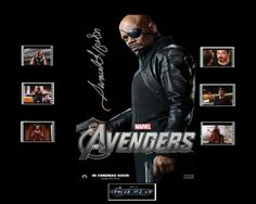 Avengers Film Cell Presentation  Nick Fury by Everythingbutthatcom, £9.99