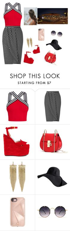 """Untitled #517"" by elma-alibasic on Polyvore featuring Miss Selfridge, Gucci, Kenneth Jay Lane, Rebecca Minkoff and Spitfire"