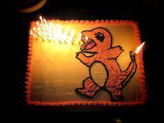 pokemon birthday cake yummy charmander birthday party birthday cake 18th birthday selfie super cool pokemon cake