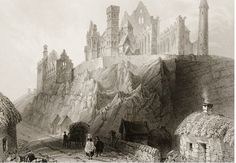 The Rock of Cashel, Co. Tipperary, Ireland, c. 1830