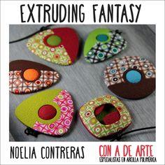 Curso Extruding Fantasy ~ Polymer Clay Extruders