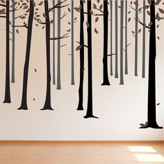 Fall Forest wall stickers