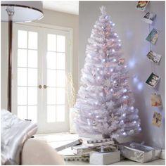 Árbol de Navidad: blanco.