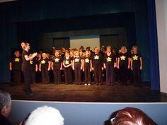 First Rock Choir Concert, Belper School, November 2011