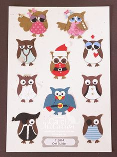 Owl Punch Art  I think I am getting obsessed with this owl punch...he he he
