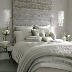 Clean and crisp and modern and simple chic